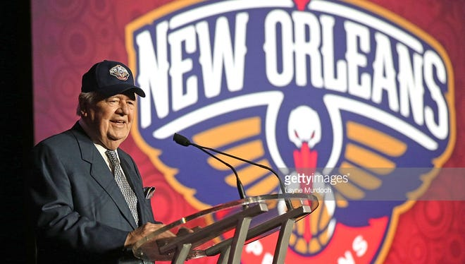 New Orleans Pelicans and Saints owner Tom Benson will decide among six cities, including Pensacola, for the Pelicans' new entry into the NBA Gatorade League.