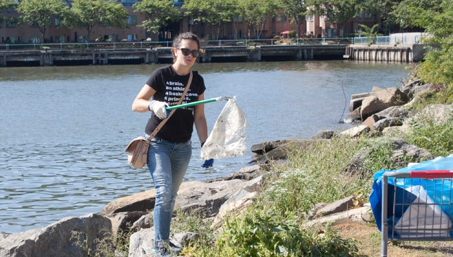 Thousands are expected to help clean up the banks of Hudson River on Saturday.