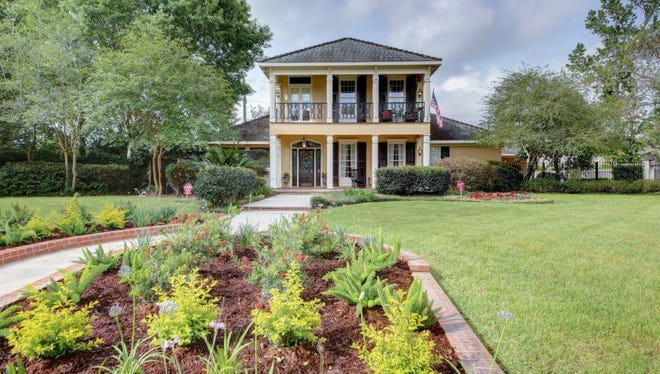 This 4 bedroom, 3 1/2 bath home is located at 105 Peck Boulevard in Lafayette. It is listed for $825,000.