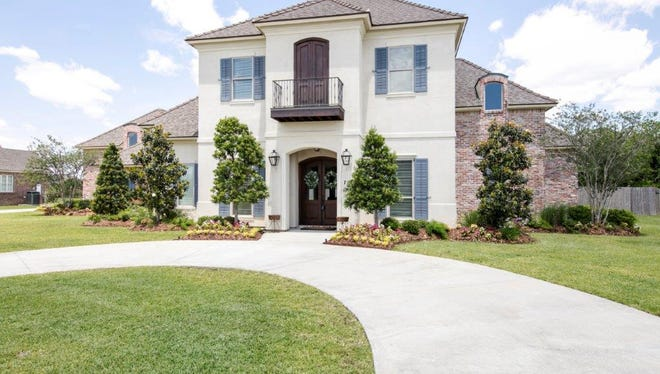 This 5 BR, 4BA home is located at 108 Red Robin Trail in Lafayette. It is listed at $1,029,000.