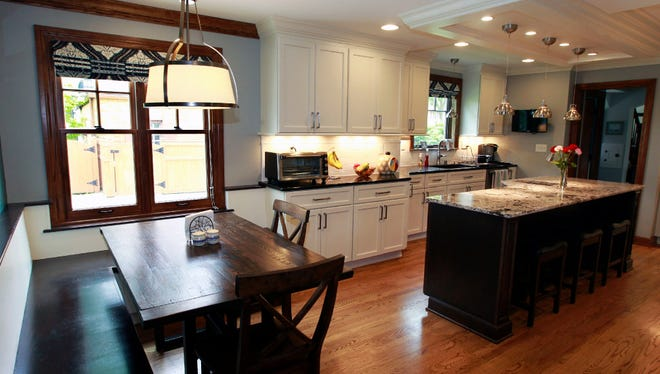 This remodeled kitchen in Wauwatosa is among projects included in this year's Milwaukee NARI Tour of Remodeled Homes.