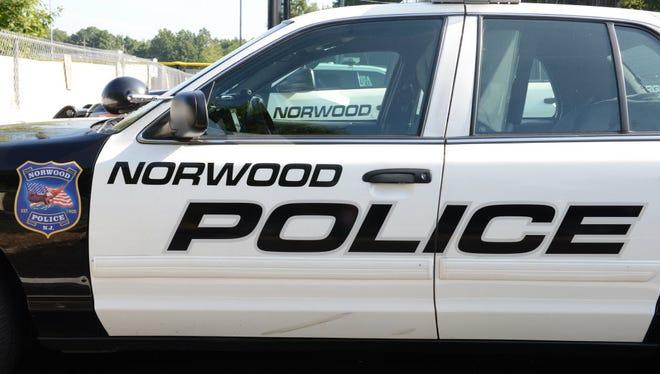 Norwood Police Vehicle