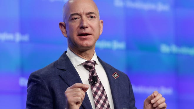 Amazon CEO Jeff Bezos solicited ideas for philanthropic endeavors from Twitter users on Thursday.