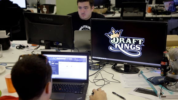 A planned merger between DraftKings and FanDuel si