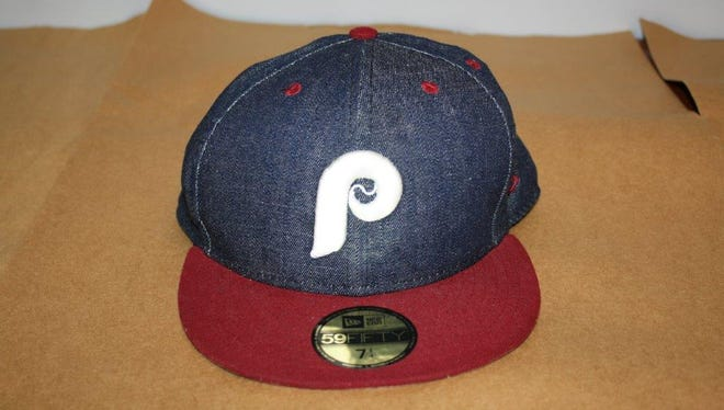 Police said a man was wearing this baseball cap when he robbed the Lantern Lodge on Friday.
