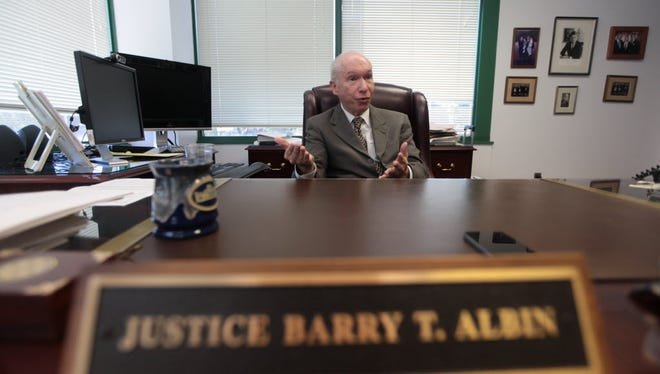 State Supreme Court Justice Barry Albin