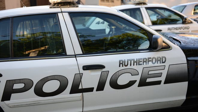 Rutherford police activity.