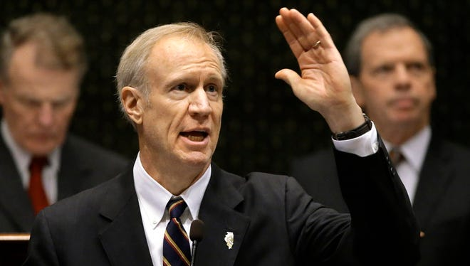 Illinois Gov. Bruce Rauner.