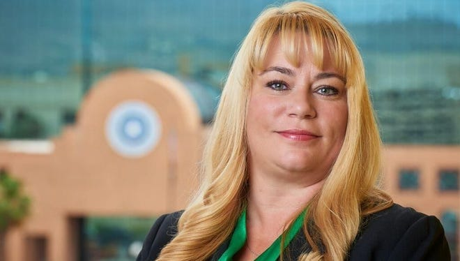 Betsy Keller, El Paso County's chief administrator.