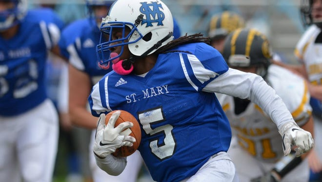 St. Mary running back Shawan Gresham will be a force for the Gaels again this season.