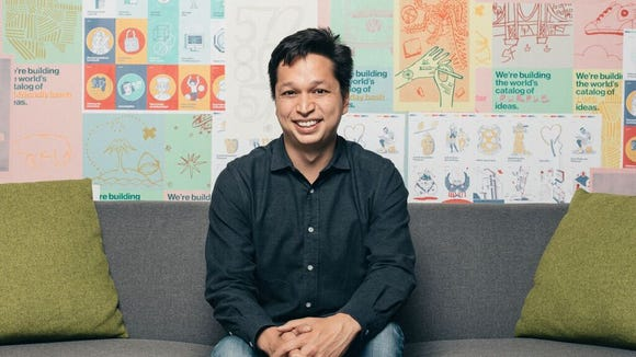 Pinterest CEO Ben Silbermann