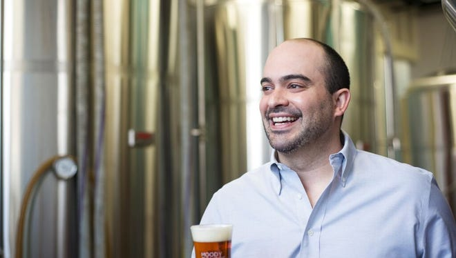 Jared Rouben is brewmaster for Chicago-based Moody Tongue.