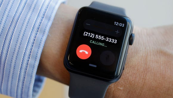 The Apple Watch Series 3 comes with cellular LTE. You'll