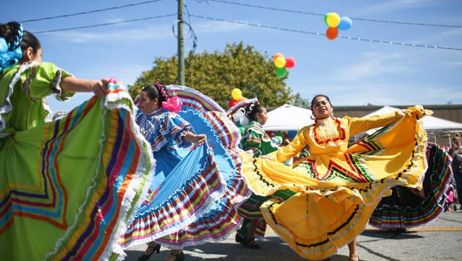 The International Dance Academy performs during FIESTA Hendersonville on Sunday afternoon in downtown Hendersonville.  The festival featured food, entertainment, vendors, and more.-Colby Rabon (colbyrabon@gmail.com) September 24, 2017