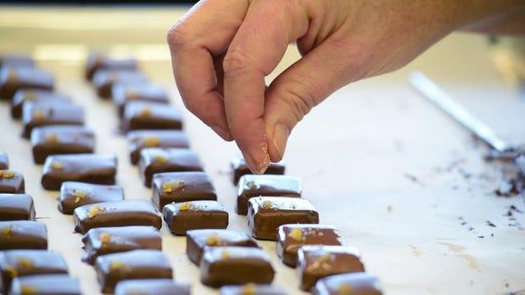 Elizabeth McDaniel is the Maitre Chocolatier behind