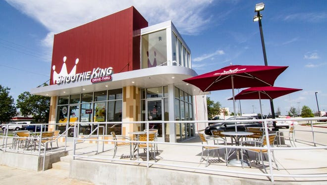 A Smoothie King franchisee is planning to build 16 drive-through stores in the Cincinnati area.