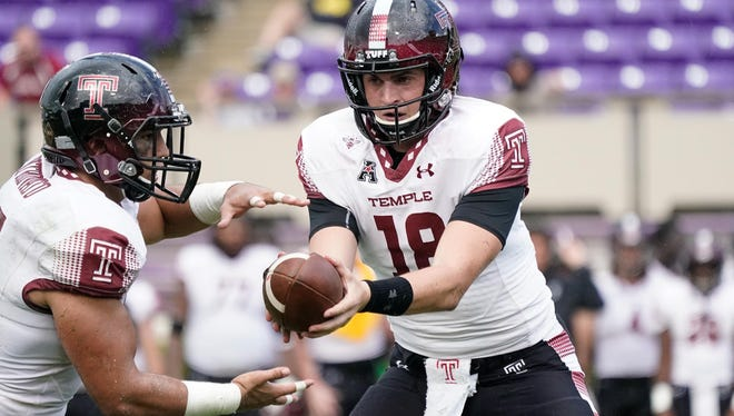 Temple QB and Don Bosco alum Frank Nutile made his first start for the Owls at quarterback against Army.