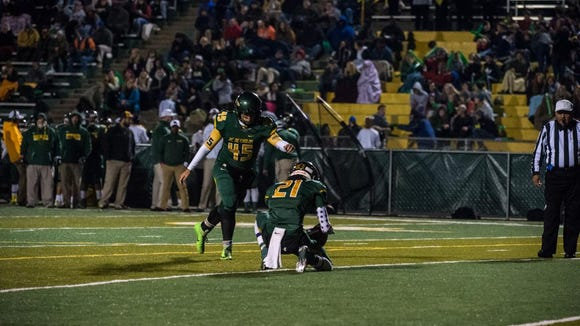 Reynolds advances to the second round of the playoffs with a 52-6 win over Parkland.