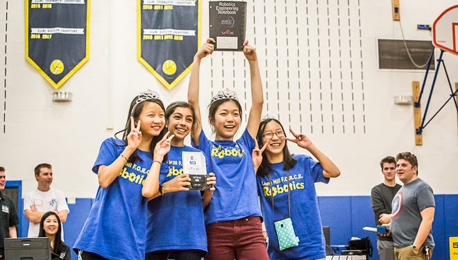 On Nov. 19, volunteers poured into Long Hill's Central Middle School to pull off an amazing VEX IQ Robotics Tournament.