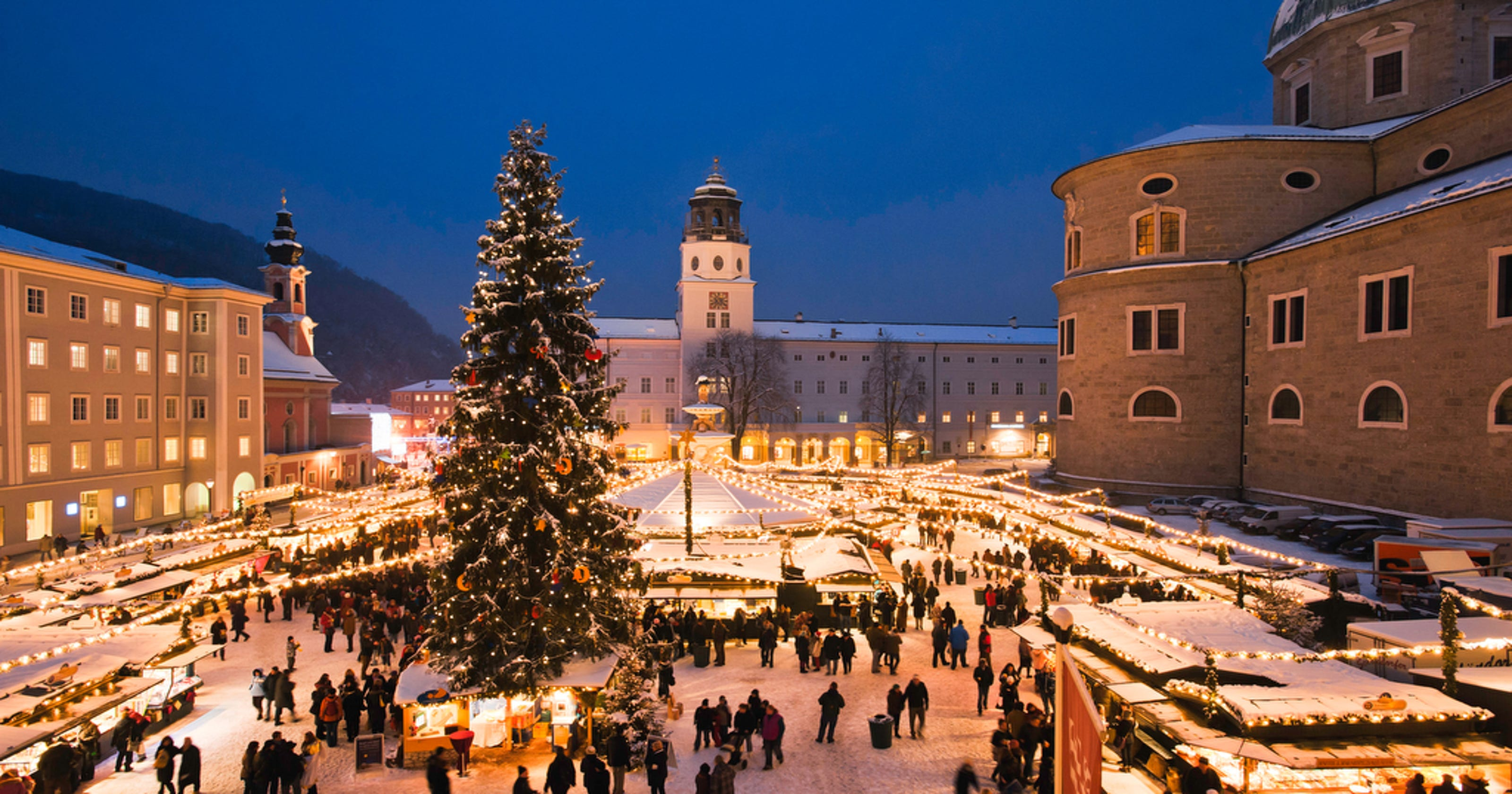 Christmas In Austria.Grand Getaway Austria