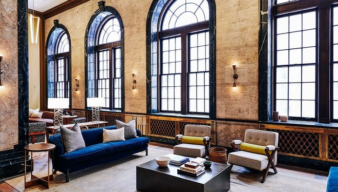 The Noelle boutique hotel is now open at 200 Fourth Ave. N.