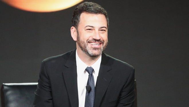 Late-night comic Jimmy Kimmel.