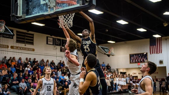 Concord knocks North Buncombe High School out of the playoffs on Tuesday February 20, 2018