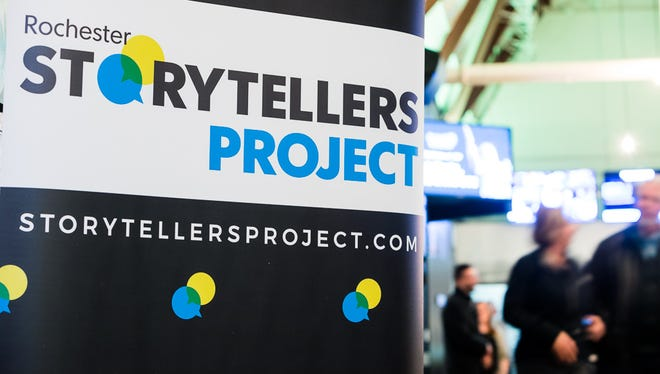 The Rochester Storytellers Project features true, first-person stories.