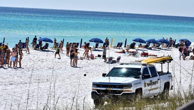 A Walton County beach