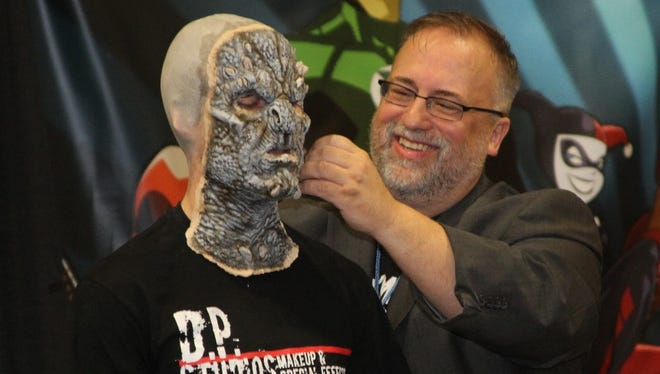 """Daniel Phillips is an internationally recognized special effects makeup artist. His credits include """"The Hobbit Trilogy"""" and """"Oz The Great And Powerful."""""""