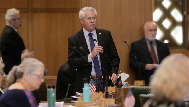 Oregon Business & Industry hired House Republican Mark Johnson to run the new organization in October. He's come under fire for accusations of mismanagement and using racially charged language.