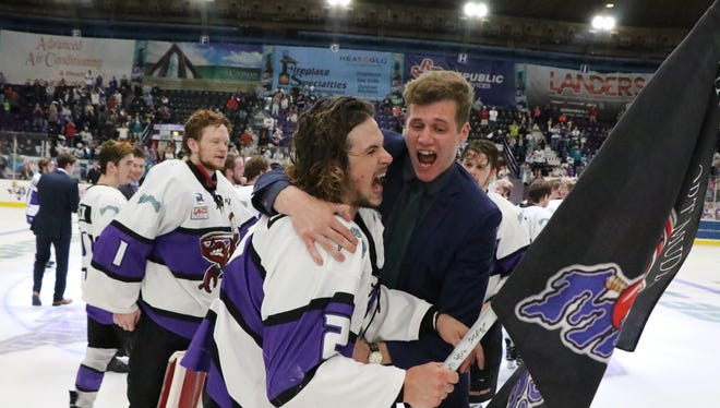 The Shreveport Mudbugs and Lone Star Brahmas battle it out in game 5 for the NAHL South Division championship and the final Mudbugs home game of the season on Sunday night at George's Pond Hirsch Coliseum in Shreveport.