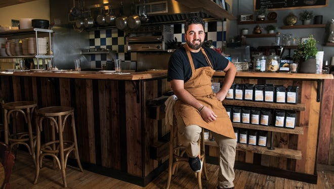 Meny Vaknin is the owner of Marcel Bakery + Kitchen in Montclair.