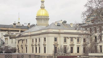 The Statehouse in Trenton.