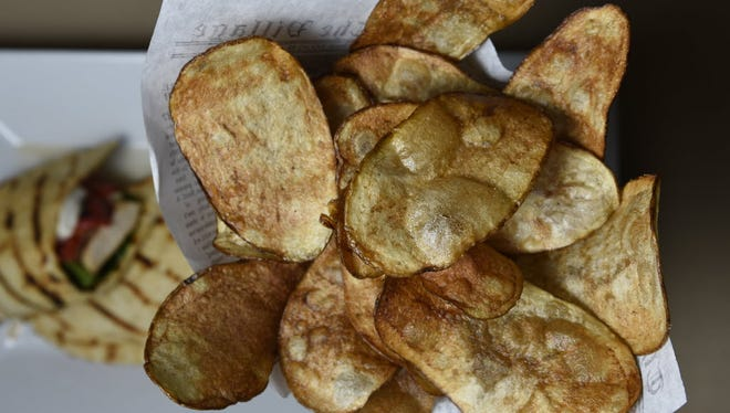 Many people, including  Montclair Deputy MayorRobin Schlager, can't get enough potato chips.