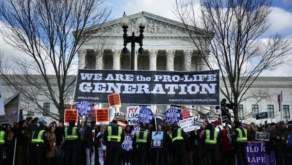 At the Supreme Court on Jan. 22, 2015.