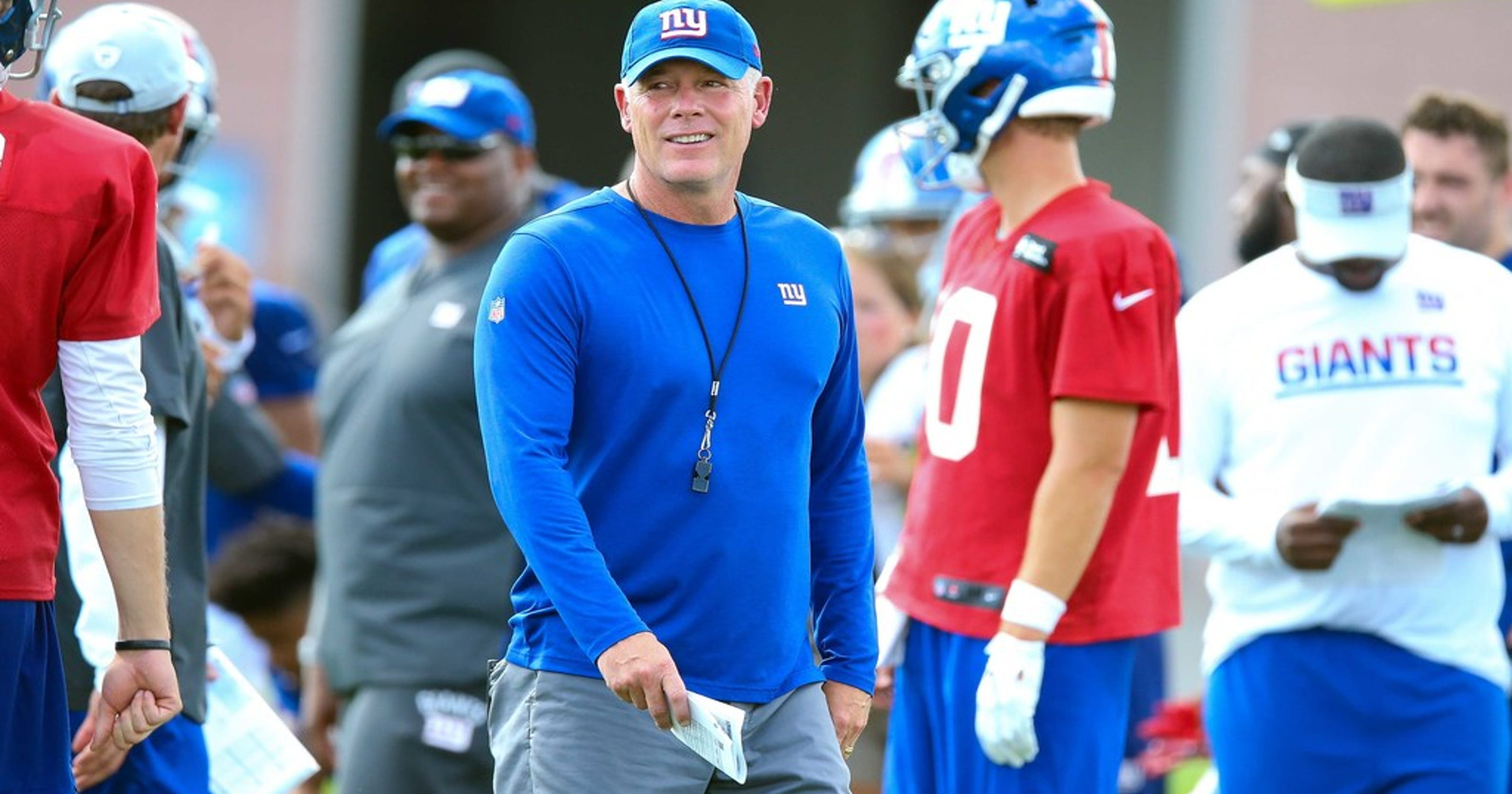 Eli Manning, Pat Shurmur trying to stay cool amid NY Giants