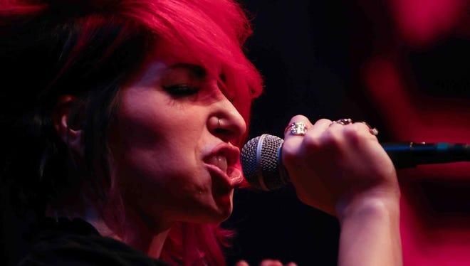 Lovebettie lead singer Alexandra Naples