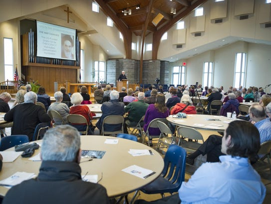 More than 100 people attended an event Saturday at