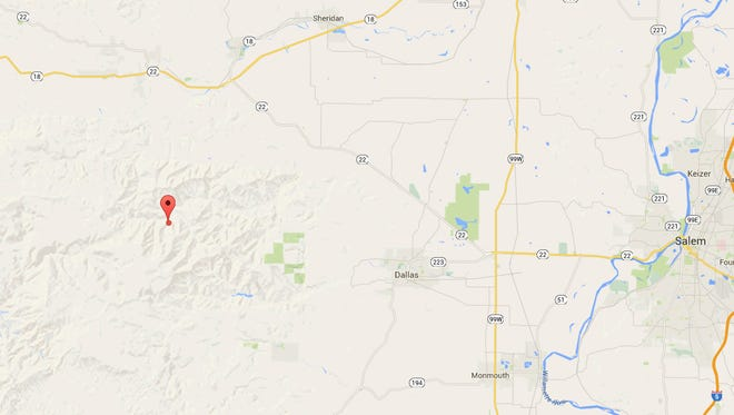 Earthquake reported in north Polk County Friday morning.
