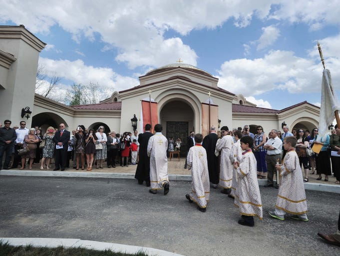 The St. George Orthodox Christian Church opened during a special ceremony Saturday May 10, 2014 at 10748 East 116th Street in Fishers.