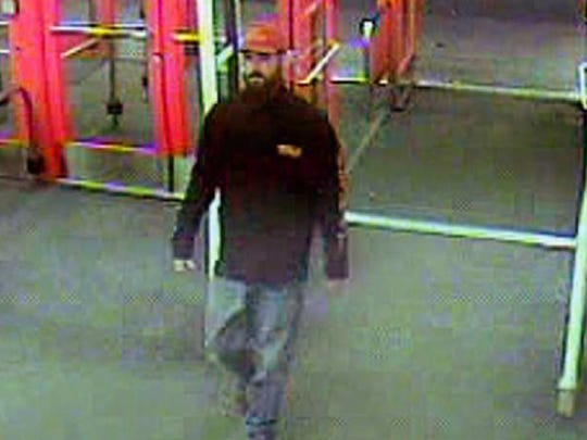 Kitsap County Sheriff's Office is seeking information on this man, seen at the Silverdale Target store on Jan. 15, 12 days before the quadruple homicide of the Careaga family in Seabeck.