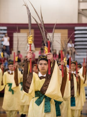 To commemorate Confucius' birthday on Sept. 28, the New Jersey Chinese community recently held a traditional memorial ceremony to pay homage to Confucius' philosophy and contribution to the world.