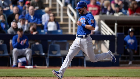 A Cubs infielder practiced in khakis, and Joe Maddon thinks that's a good thing