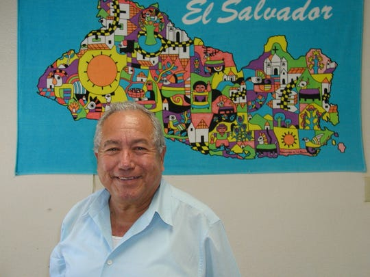 Ricardo Cristales, owner of the El Salvador Restaurant in Farmersville offers many foods from his native land.