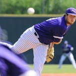 Northwestern State pitcher Josh Oller had a career-high eight strikeouts on Saturday.