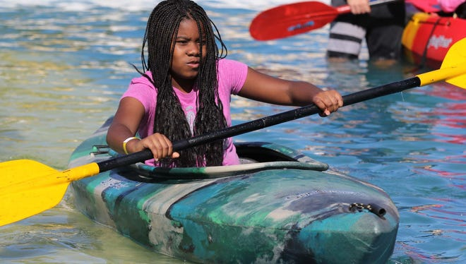 Visitors can try out kayaks for free at Saturday's Outdoor Days at Table Rock Lake State Park.