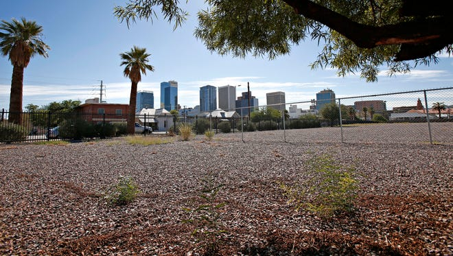 Developers have until Tuesday night to submit bids for one of the largest unclaimed pieces of real estate in downtown Phoenix -- a 7.6-acre lot worth at least $8.5 million on Fillmore Street between Fourth and Sixth avenues.