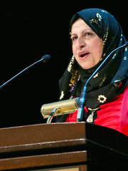 Janan Najeeb, president of the Milwaukee Muslim Women's