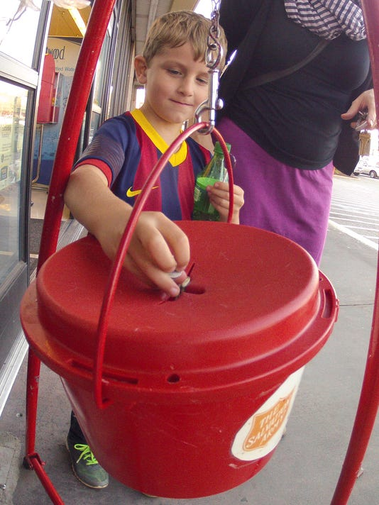 Salvation Army Kettle Drive